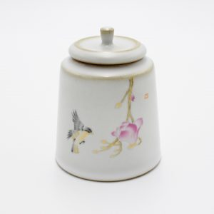 Ceramic Tea Canister (Humming Bird)