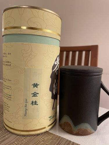 Zen Style Ceramic Tea Infuser Cup (Black) photo review